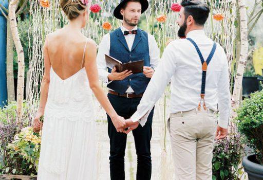 Freie Trauung mit Hochzeitsredner von Strauß & Fliege