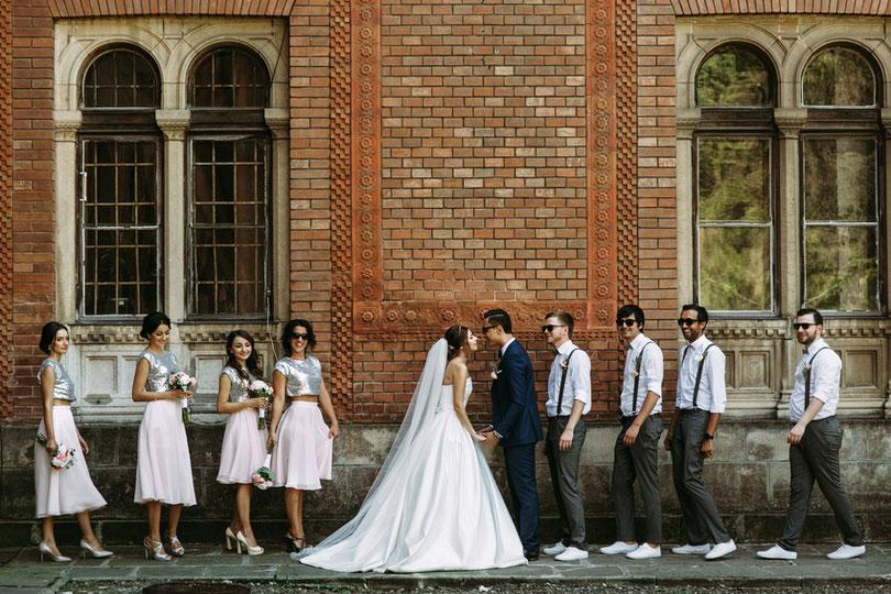 Freie Trauung: Heiraten mit Traurednern von Strauß & Fliege