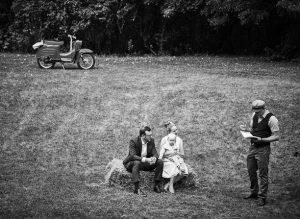 Hochzeit unter freiem Himmel mit Hochzeitsrednern von Strauß & Fliege
