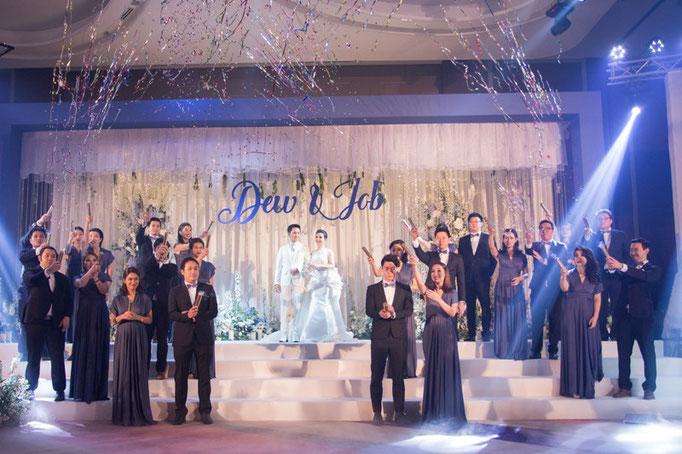 International free wedding ceremony with ceremony masters of Strauß & Fliege