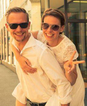 Stefanie & David