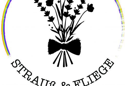 Logo Strauß & Fliege queer