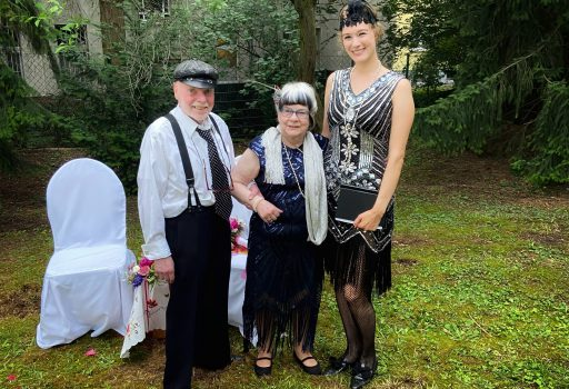 Rednerin Karien begleitet Eure Goldene Hochzeit in Berlin
