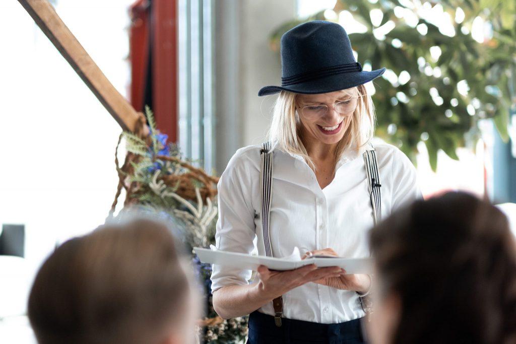 Freie Trauung mit Hochzeitsrednerin Carolin Wett