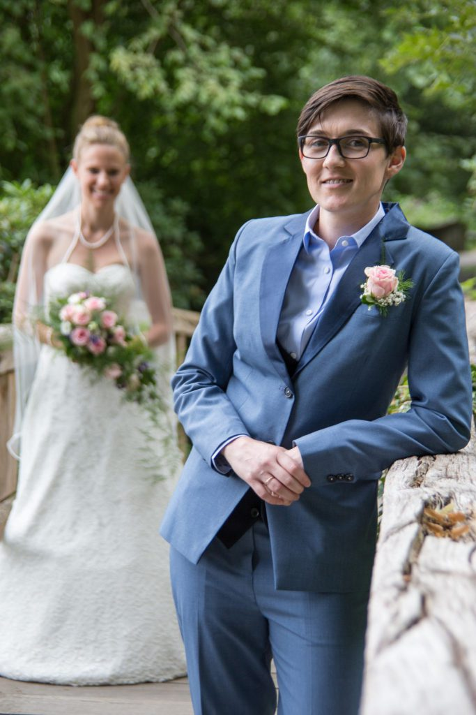 Ehe für Alle - Braut und Braut - Queer