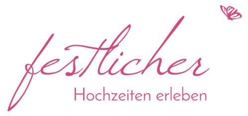 Logo der Hochzeitspanungsagentur festlicher