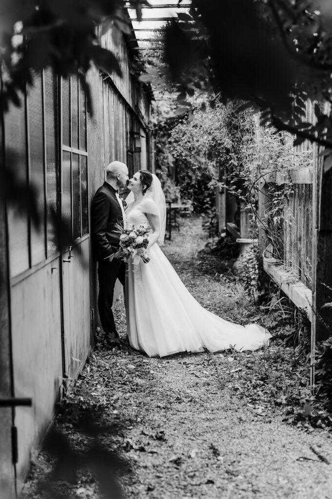 Freie Hochzeit in der alten Gärtnerei München