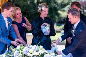 Free wedding ceremony in England with Carola Schmidt from Vienna