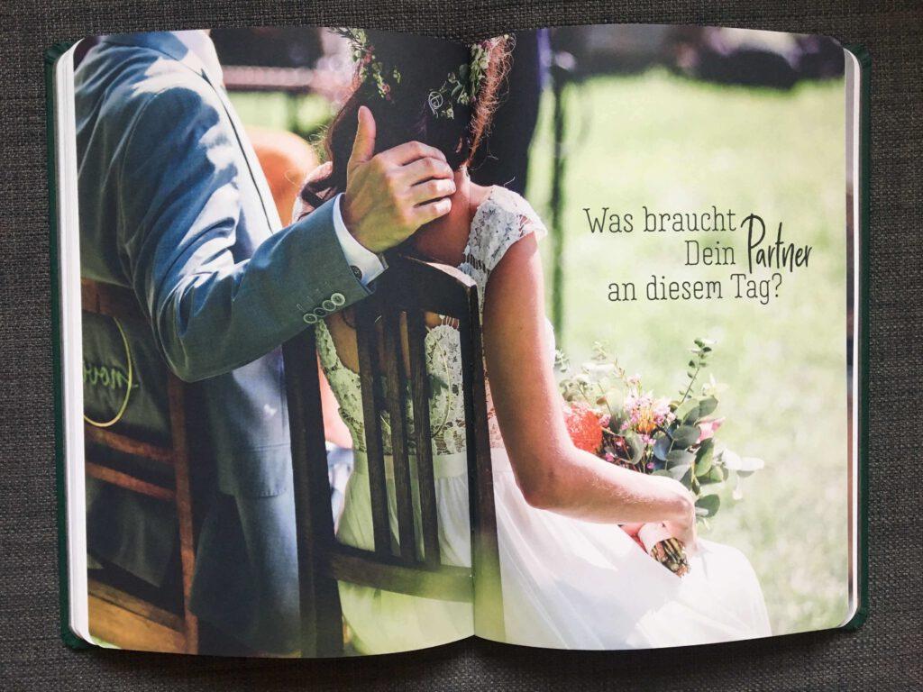 Verlobungsgeschenk   Achtsamkeit   Notizbuch   Strauß & Fliege