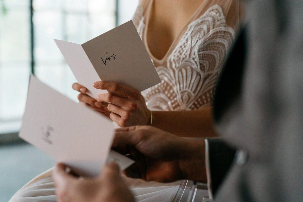 Eheversprechen Vows | Freie Trauung | Strauß & Fliege
