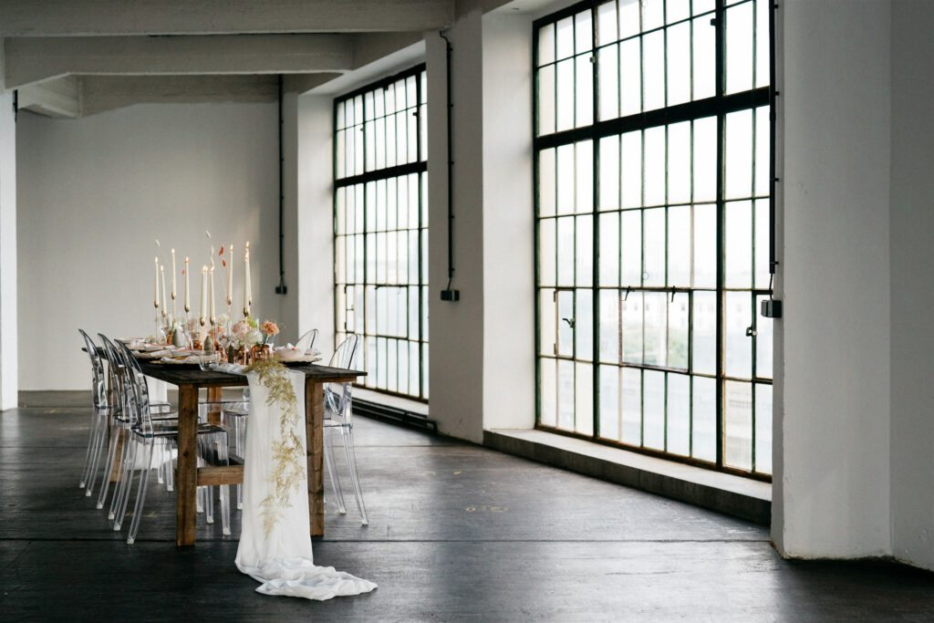 Hochzeit NY Style | Freie Trauung | Strauß & Fliege
