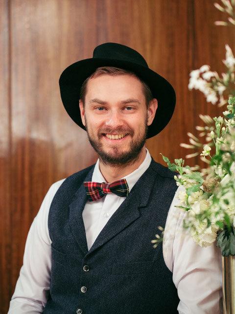 Johann-Jakob Wulf Freie Trauungen mit Hochzeitsredner von Strauß & Fliege