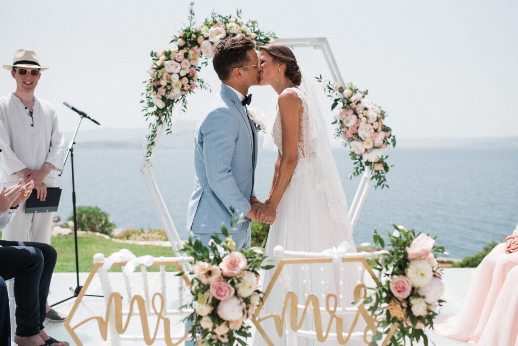 Freie Trauung auf Kreta in Griechenland   Destination Wedding   Strauß & Fliege